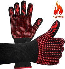 Bearsu - Barbecue Gloves, Heat Resistant Oven