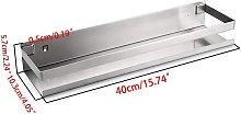 Bearsu - Bathroom Shower Shelf Stainless Steel