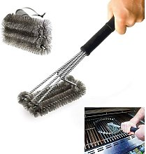 Bearsu - BBQ Grill Brushes,Rust-Proof High-Nickel