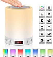 Bearsu - Bedside lamp with bluetooth speaker with