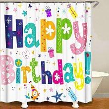 Bearsu - Birthday Bash Shower Curtain for