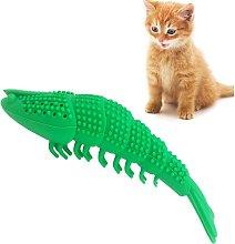 Bearsu - Cat Toothbrush Catnip Toy,Interactive