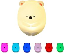 Bearsu - Children's LED night light with