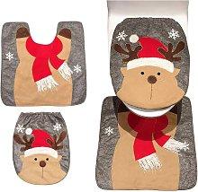Bearsu - Christmas Decoration Santa Toilet Seat