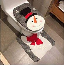 Bearsu - Christmas Snowman Santa Deer Toilet Seat