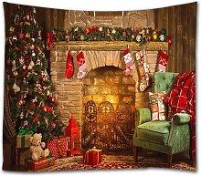 Bearsu - Christmas Tapestry, Xmas Merry Christams