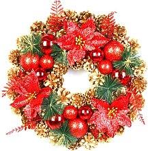 Bearsu - Christmas Wreath Front Door Decor