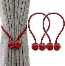 Bearsu - Curtain Tiebacks Magnetic Curtain Tieback