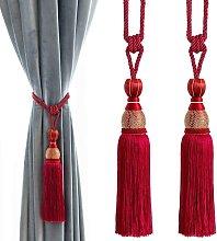 Bearsu - Decorative Curtain Tiebacks Ball Tassels