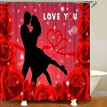 Bearsu - ilmobile Christmas Shower Curtain for