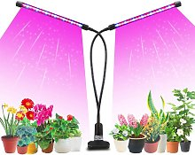 Bearsu - Led Grow Light for Indoor Plants, Dual