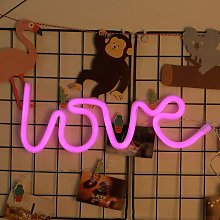 Bearsu - LED Neon Sign, Battery Operated, USB,