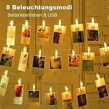 Bearsu - LED photo Clips Fairy lights