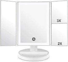 Bearsu - Makeup Mirror with LED Lighting and Touch