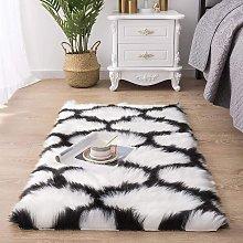Bearsu - Moroccan Shaggy Soft Faux Sheepskin Fur