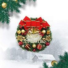 Bearsu - N/G Artificial Pine Christmas Wreath