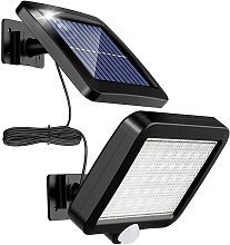 Bearsu - Outdoor solar light with 56 LED motion