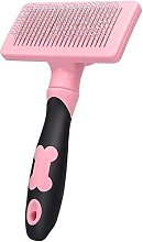Bearsu - Pet Self-Cleaning Slicker Brush for Dogs,