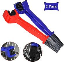 Bearsu - Red and Blue Bicycle Chain Cleaning Brush