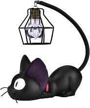 Bearsu - Resin Cat Lamp ?Kiki's Cats Table