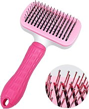Bearsu - Self Cleaning Slicker Brush for Dogs,