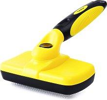 Bearsu - Self Cleaning Slicker Brush for Hair