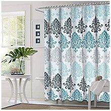 Bearsu - Shower Curtain with Metal Hooks, 72'