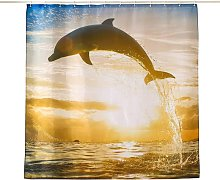 Bearsu - Topmail Shower Curtain Polyester with 12