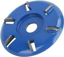 Bearsu - Wood Cutting Disc, 6 Teeth Steel Wood