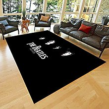 Beatles Rug, Beatles Gifts, For Living Room, Non