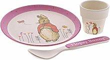 Beatrix Potter A29185 Flopsy Bamboo Egg Cup Set