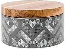 Beau & Elliot Large Round Ceramic Storage Jar With
