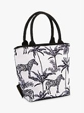 Beau & Elliot Madagascar Zebra Lunch Cooler Tote