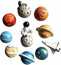 Beauneo 11Pcs Magnetic Sticker Astronaut
