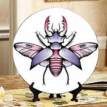 Beautiful Beetle Jianbian Cheap Ceramic Plates