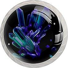 Beautiful Blue Purple, Modern Minimalist Printing
