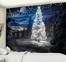 Beautiful Christmas Wall Hanging Hippie Fireplace