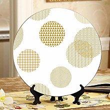 Beautiful Circular Circle Fancy Ceramic Plate