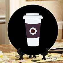 Beautiful Coffee and Coffee Cup Cheap Plates