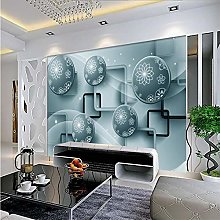 Beautiful Fashion 3D Tv Sofa Background Wall