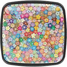Beautiful Flowers [4 PCS]Decorative Cabinet