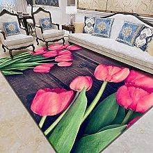 Beautiful flowers bedroom decoration large area