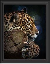 Beautiful Leopard Framed Photographic Art Print