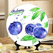 Beautiful Natural Fresh Blueberries Cheap Plates
