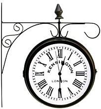 Beautiful Outdoor Hanging Station Clock