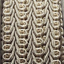 Beautiful Quality 15mm Double Scroll Gimp Braid