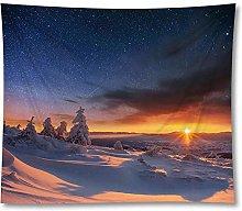 Beautiful Scenic Curtain Table Cloth Landscape