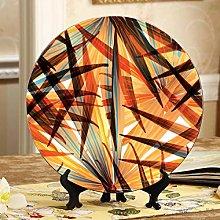 Beautiful Street Art Graffiti Ceramic Plate Decor