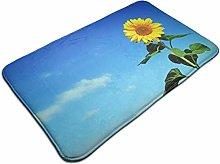 Beautiful Sunflower Bath Mat Door Mats Rug