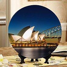 Beautiful Sydney Opera House Cheap Plates Ceramic